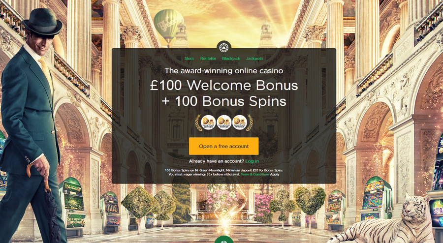 mr green casino home page