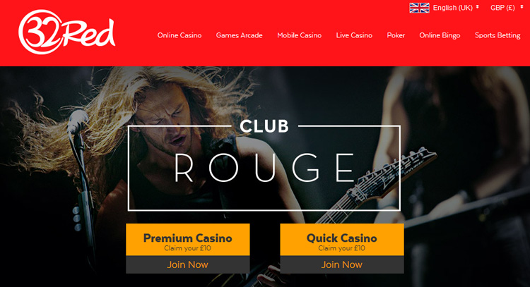 Club Rouge from 32Red Casino