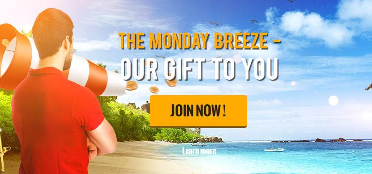 Monday Breeze Casino Cruise Promo