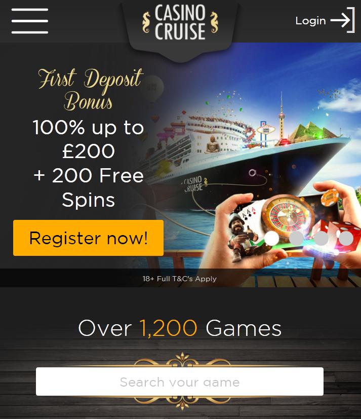 casino cruise 2018
