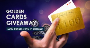 gala casino blackjack golden cards give away