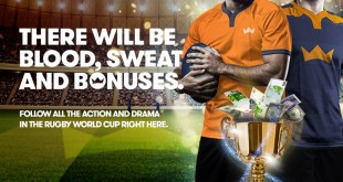 InterCasino Ride to rugby cup promo