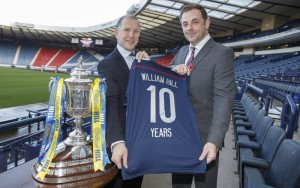 William Hill Scottish Cup new Sponsership announcement at Hampden Park Glasgow