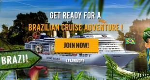 win a brazilian cruise with casino cruise