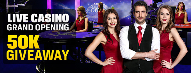 Coral Live Casino Grand Opening £50K Giveaway