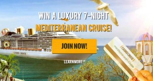 Win a Mediterranean Cruise with Casino Cruise