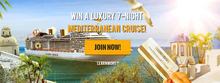 Win a Mediterranean Cruise with Casino Cruise