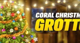 coral christmas grotto promo