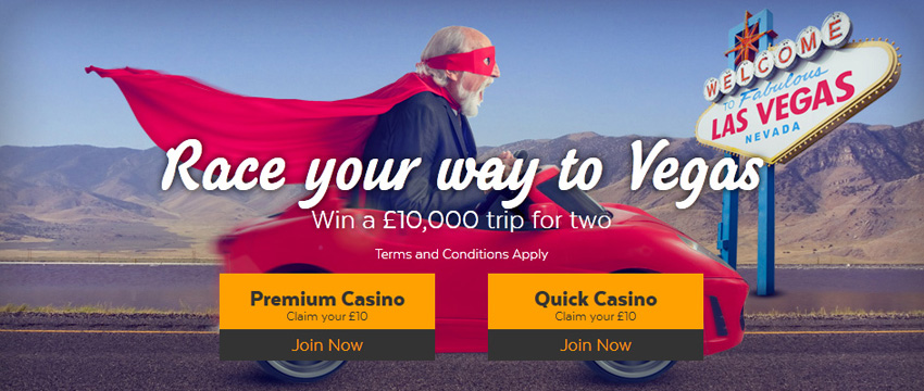32red casino win a trip to las vegas