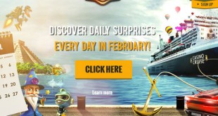 casino cruise feb daily bonus offers