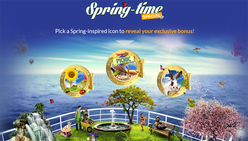 Casino cruise is bringing in spring with instant bonus winnings