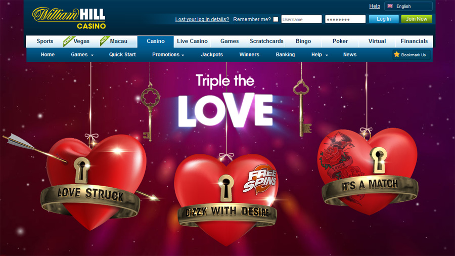 william hill triple the love promotion
