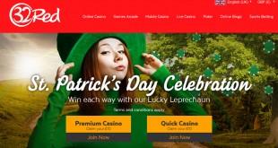 32Red Lucky Leprechaun Bonus Slots offer