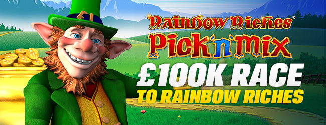 Coral Casino Race to Rainbow Riches
