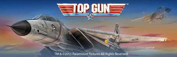 william hill top gun slot offer