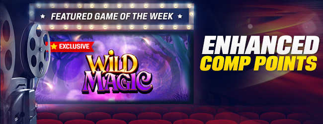 coral casino featured game of the week wild magic