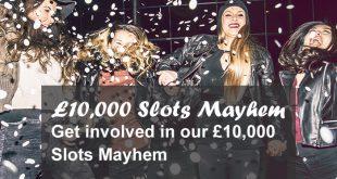 32red slots mayhem may 2016