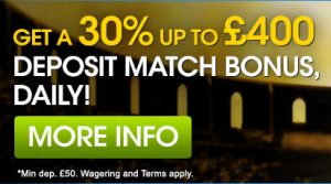 William Hill Casino Cash Match Bonus