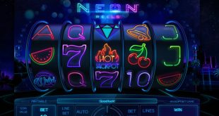play neon reels slot for free