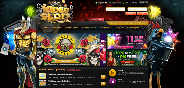 casino reviews online videoslots