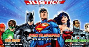 Play DC Comics Justice League Slot